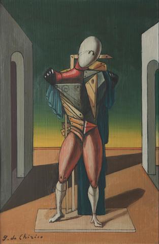 Giorgio de Chirico (Italian, 1888-1978) Il trovatore