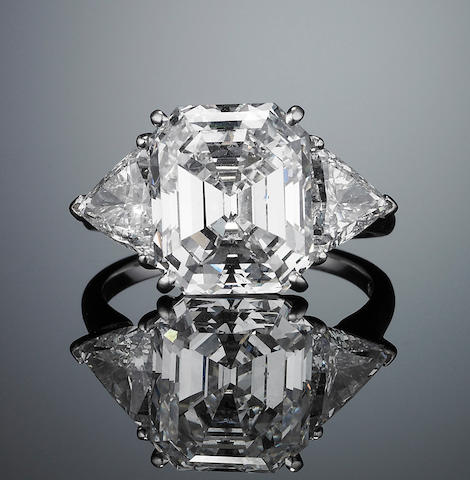 A diamond single-stone ring,  by Van Cleef & Arpels