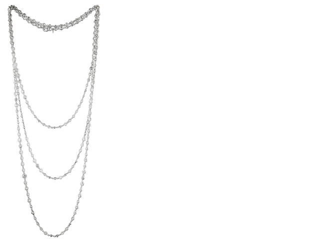 A diamond longchain