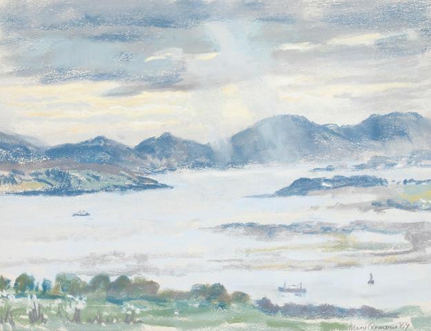 Mary Armour, RSA RSW (British, 1902-2000) Gareloch, low tide