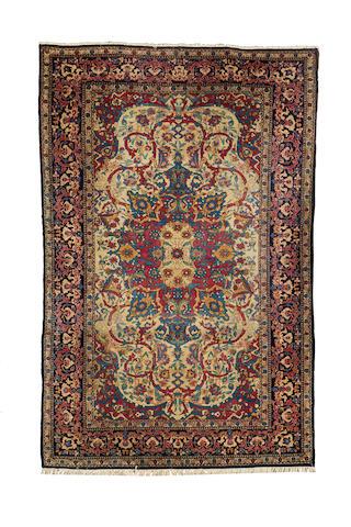 An Isfahan rug, Central Persia, 213cm x 140cm
