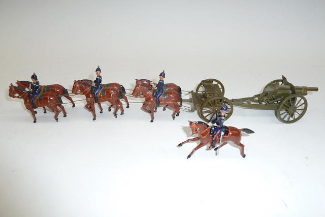 Britains set 144, Royal Field Artillery 9