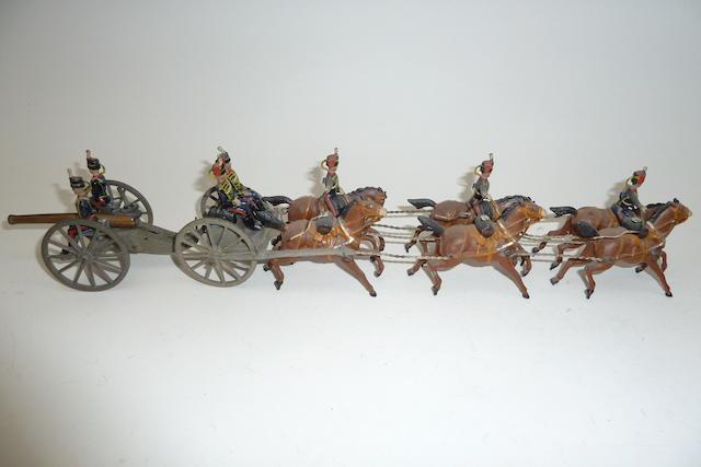 Britains set 39, Royal Horse Artillery 13