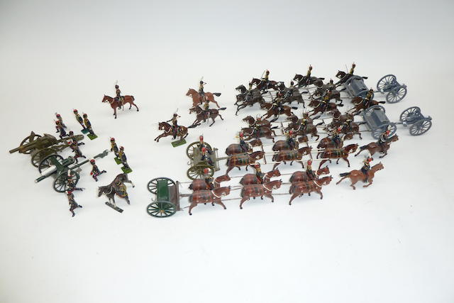 Britains repainted and converted Royal Horse Artillery 59