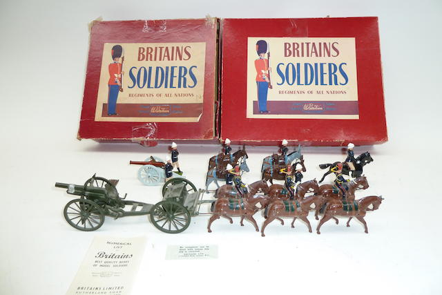 Britains set 28, Mountain Artillery 20