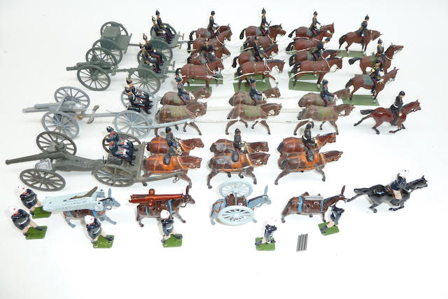 Britains fully converted and repainted Royal Field Artillery 56
