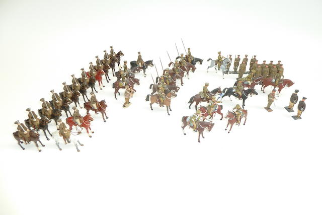 Britains and others converted and repainted British troops from the First World War 48