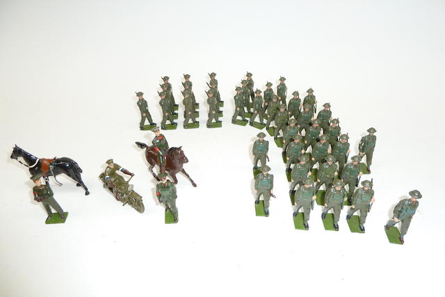 Britains Infantry in Battledress 43