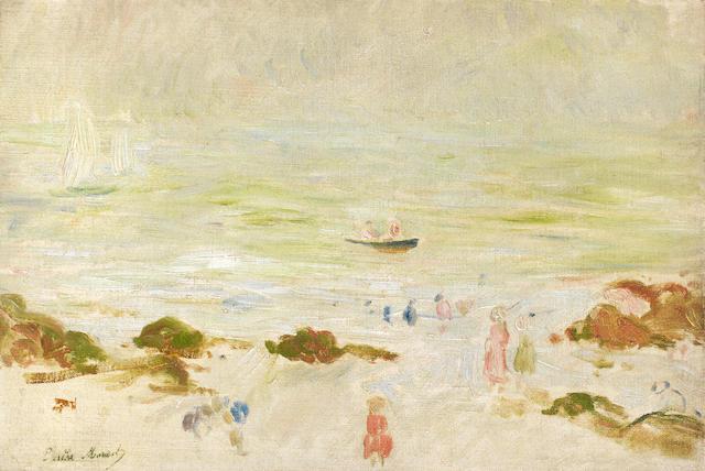 Berthe Morisot Plage de la Comtesse dans la brume