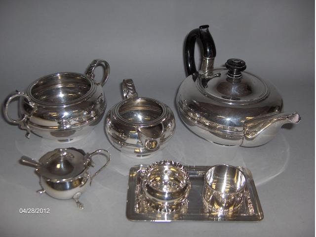 A 'Bachelors' three piece tea service