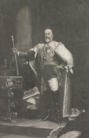 After Sir Luke Fildes  George V signed by George V