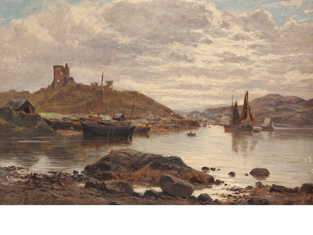 John Douglas Scott (Scottish) Coastal view