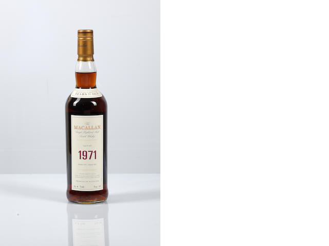 Macallan Fine & Rare- 1971- 30 year old