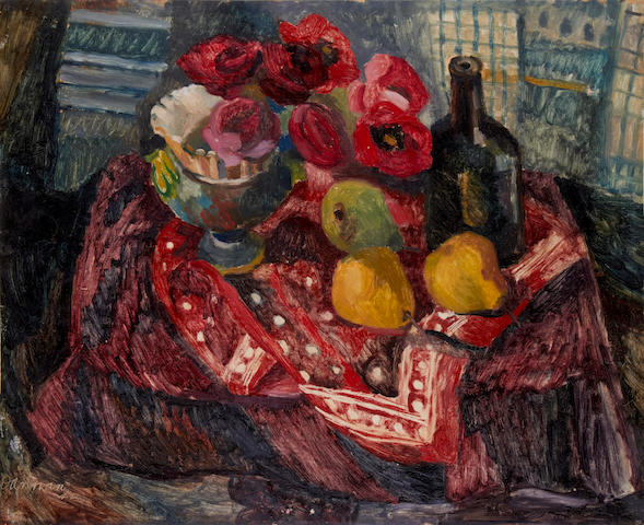 ** Dannan (20th Century) Still life