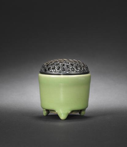 A Longquan celadon incense burner Ming dynasty