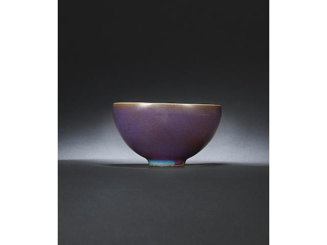 An outstanding large and rare Junyao bowl Northern Song / Jin dynasty
