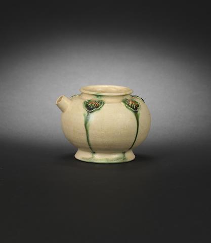 A small sancai-glazed ewer Tang dynasty