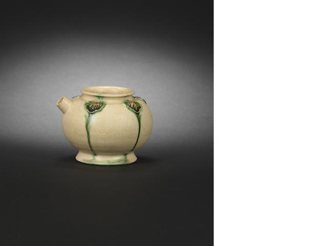 A small sancai-glazed ewer Tang dynasty