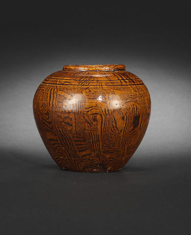 A small amber-glazed jar Northern Song dynasty