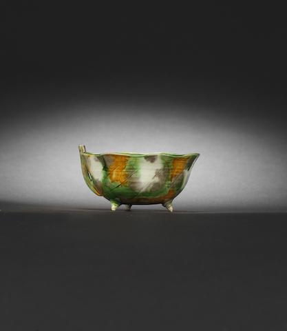 A fine sancai-glazed waterdropper Kangxi