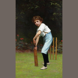 Philip Hermogenes Calderon, RA (British, 1833-1898) Captain of the Eleven