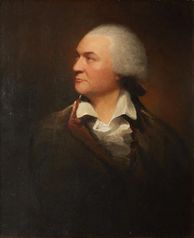 Attributed to Gilbert Stuart Newton (British, 1794-1835) Portrait of Francis Webb (1735-1815)