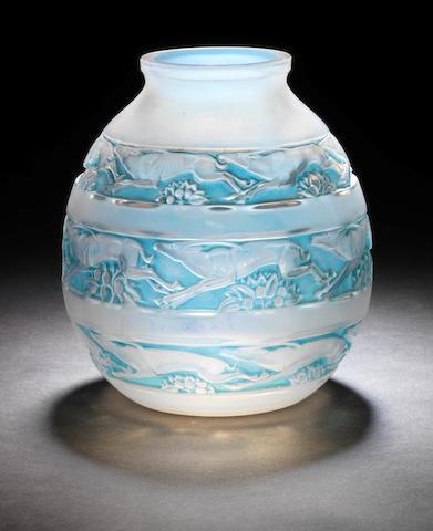 René Lalique 'Soudan' a Vase, design 1928
