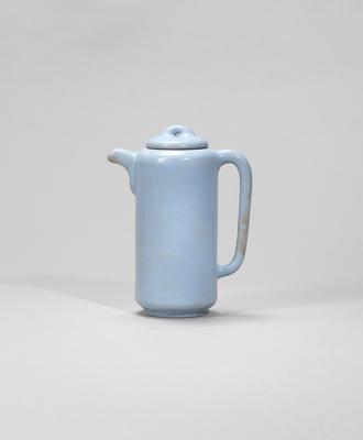 An Yijun stoneware teapot and cover Republican period, signed Mo Wuji