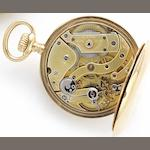 Patek Philippe. An 18ct gold keyless wind open face pocket watch Retailed by Masriesa Herms, Barcelona, Case No.230458, Movement No.120195, Circa 1890