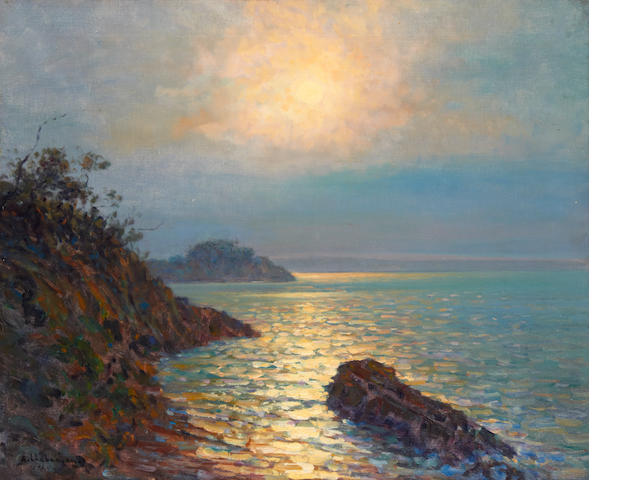 Arsène Chabanian (French, 1864-1949) Sunset