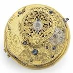 George Graham. An interesting fusee movement with cylinder escapement No.6275, Circa 1746/7