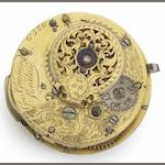 George Graham. An interesting fusee movement with cylinder escapement No.6586, Circa 1751/2