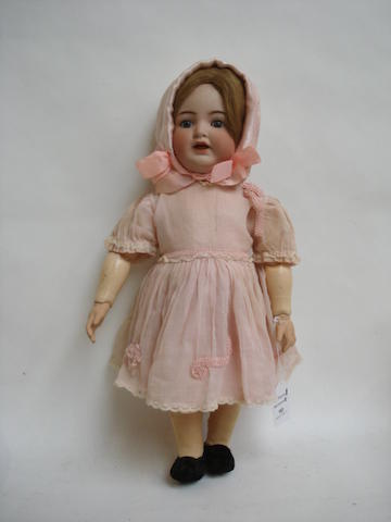 Simon & Halbig 126 bisque head doll