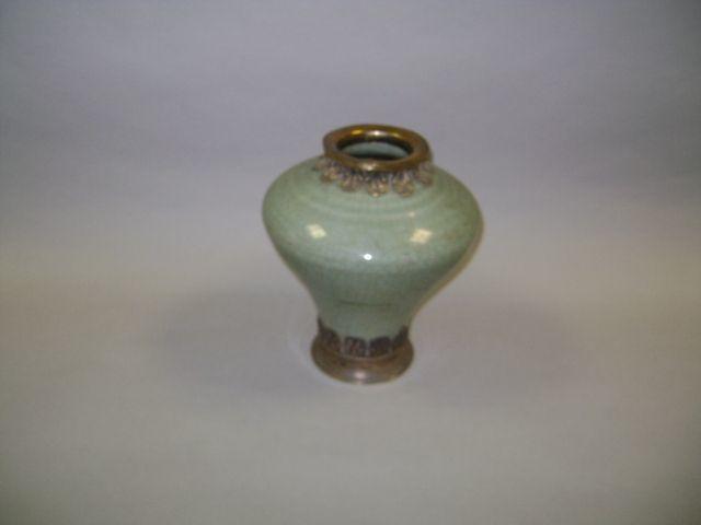A Chinese Celadon stoneware vase
