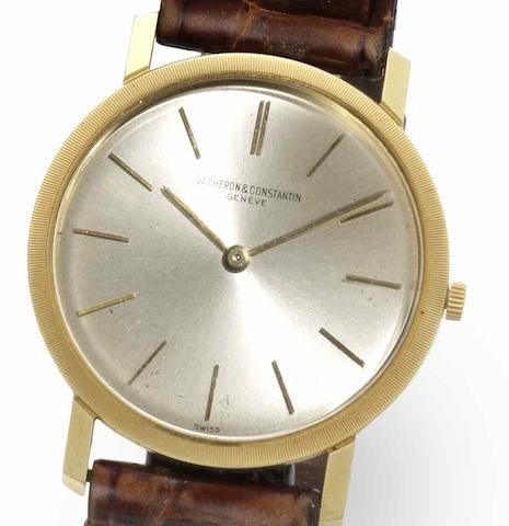 Vacheron & Constantin. An 18ct gold manual wind wristwatchRef:6351, Case No.403087, Movement No.575567, Circa 1962