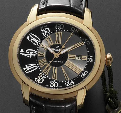 Audemars Piguet. An 18ct gold automatic calendar wristwatch Millenary Ref: G11001, Circa 2006