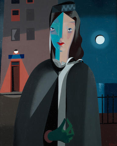 Colin Middleton R.H.A. (Irish, 1910-1983) Muriel 75 x 60.5 cm. (29 1/2 x 23 3/4 in.)