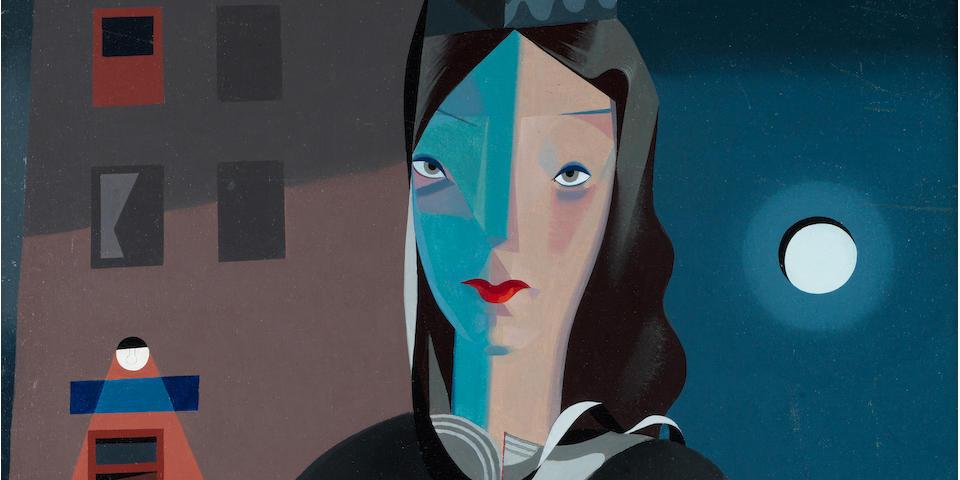 Colin Middleton R.H.A. (Irish, 1910-1983) Muriel 75 x 60.5 cm. (29 1/2 x 23 3/4 in.)
