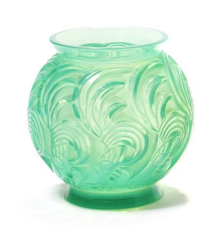 René Lalique 'Bresse' a Vase, design 1931