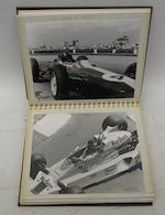 An album of post-War motorsport photographs and ephemera,