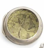 George Graham. An 18th century verge pocket watch in later silver caseMovement No.5999, Case with London Hallmark for 1775, Movement Circa 1740/41