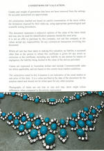 A turquoise and diamond necklace,  by Bulgari,
