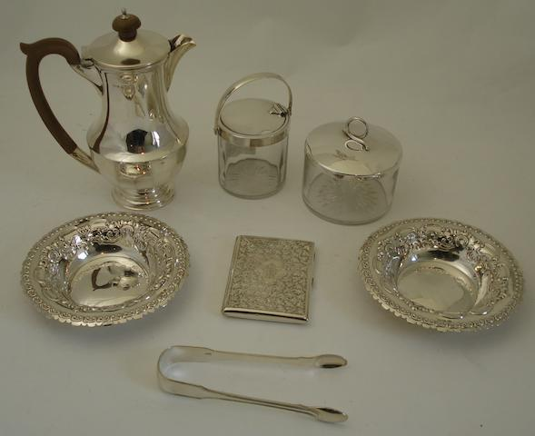 A collection of silver  (7)