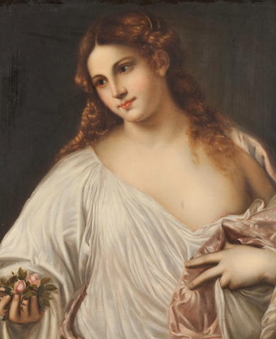 After Titian, 20th century  Flora