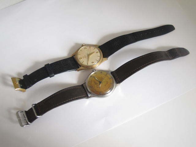 Two gentlemen's wristwatches