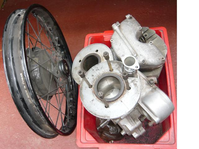 A Velocette 'alloy'  MAC engine,