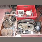 A quantity of Velocette post-War spares,