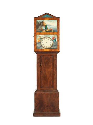 A 19th Century Austrian organ longcase clock