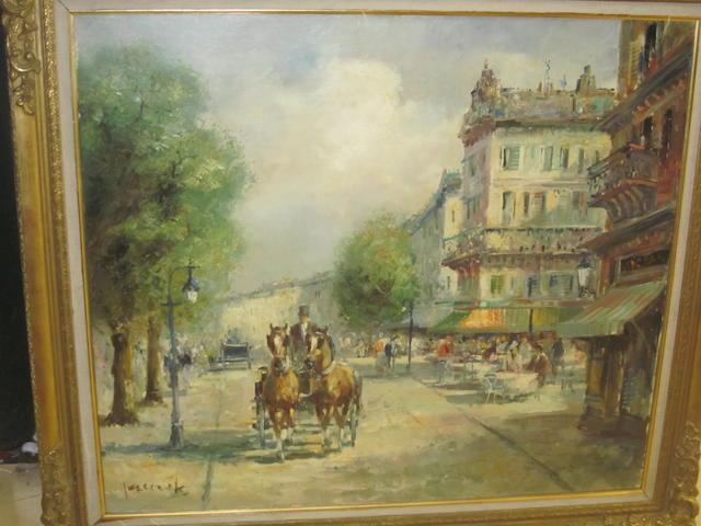 Christian Jereczek (German, born 1935) 'La Parisien'