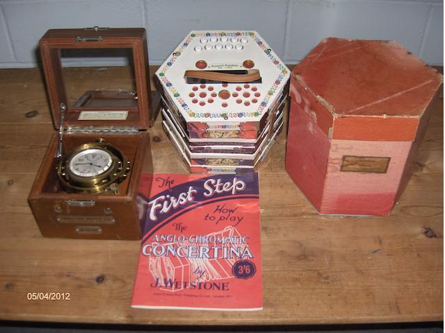 A Rossetti Rambler Delux concertina